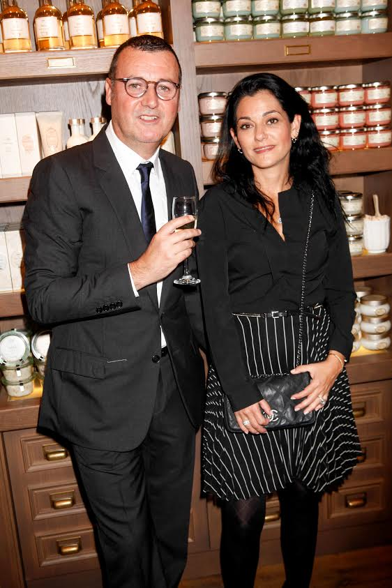 Mandatory Credit: Photo by Richard Young/REX (4230122cd) Guests Beauty brand Sabon launch at Neal Street, London, Britain - 30 Oct 2014